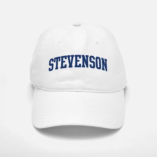 STEVENSON design (blue) Baseball Baseball Cap