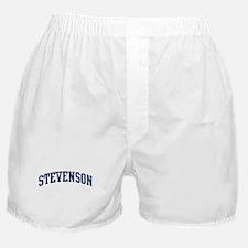 STEVENSON design (blue) Boxer Shorts
