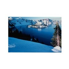 Crater Lake Rectangle Magnet