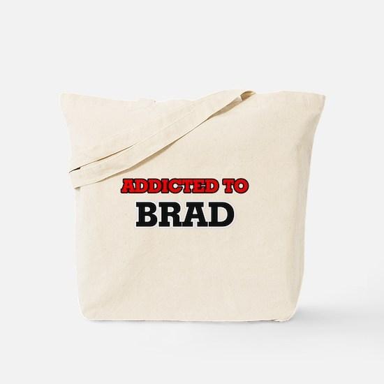 Addicted to Brad Tote Bag