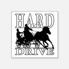 Hard Drive - Carriage Driving Sticker