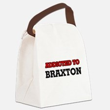 Addicted to Braxton Canvas Lunch Bag