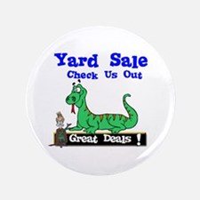 "Great Deals Yard Sale. 3.5"" Button"