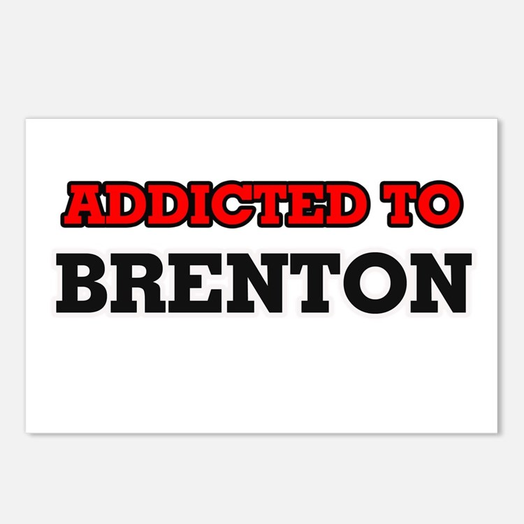 Addicted to Brenton Postcards (Package of 8)