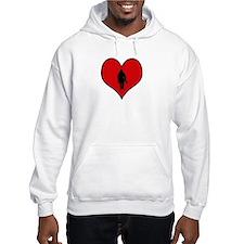 I heart Firefighter Hoodie