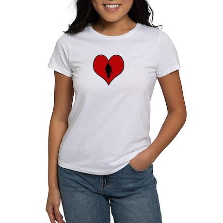 I heart Firefighter Women's T-Shirt