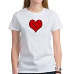 I heart Field Hockey Women's T-Shirt