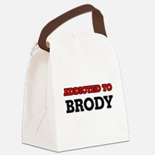 Addicted to Brody Canvas Lunch Bag