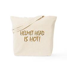 Hot Helmet Head Tote Bag