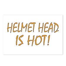 Hot Helmet Head Postcards (Package of 8)