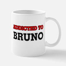 Addicted to Bruno Mugs