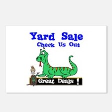 Great Deals Yard Sale. Postcards (Package of 8)