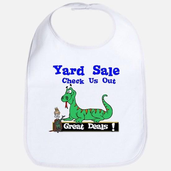Great Deals Yard Sale. Bib