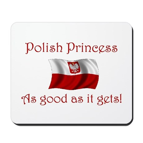 Polish Princess Mousepad