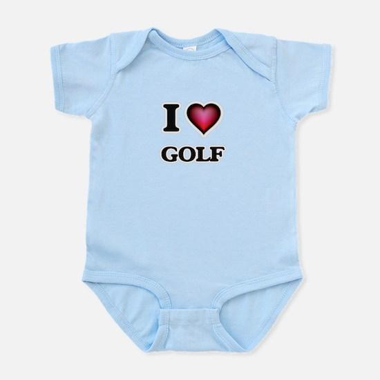 I Love Golf Body Suit