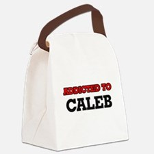 Addicted to Caleb Canvas Lunch Bag