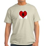 I heart Dancers Light T-Shirt