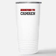 Addicted to Camren Travel Mug