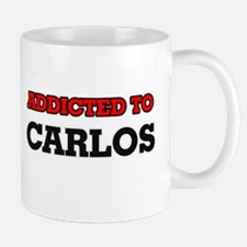 Addicted to Carlos Mugs