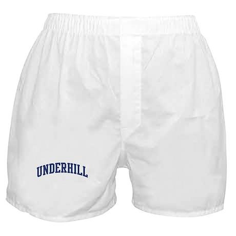 UNDERHILL design (blue) Boxer Shorts