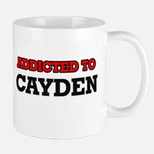 Addicted to Cayden Mugs
