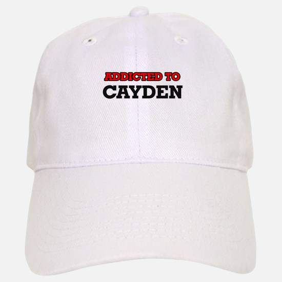 Addicted to Cayden Baseball Baseball Cap