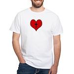 I heart Christianity White T-Shirt