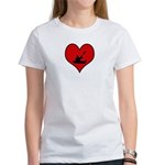 I heart Canoeing Women's T-Shirt