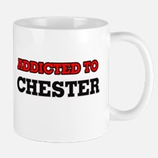 Addicted to Chester Mugs