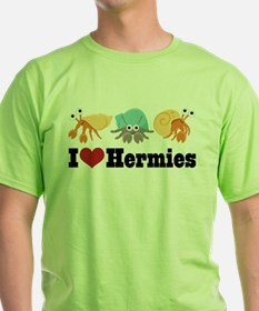 I Heart Hermies Hermit Crab T-Shirt