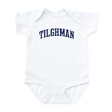 TILGHMAN design (blue) Infant Bodysuit