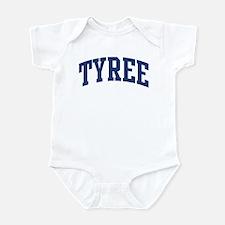 TYREE design (blue) Infant Bodysuit