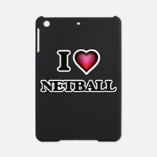 I Love Netball iPad Mini Case