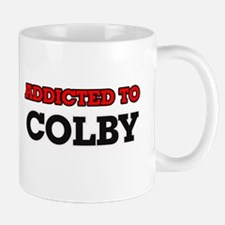 Addicted to Colby Mugs