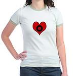 I heart Billiards Jr. Ringer T-Shirt