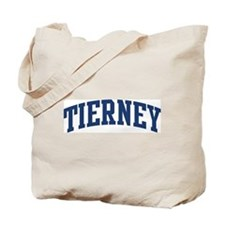 TIERNEY design (blue) Tote Bag