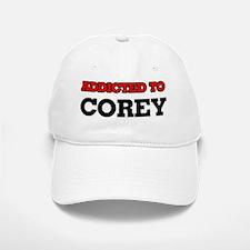Addicted to Corey Baseball Baseball Cap