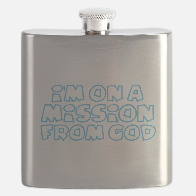 Cute Missionary Flask