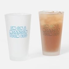 Cute Mission Drinking Glass