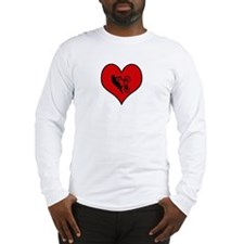 I heart BMX Long Sleeve T-Shirt