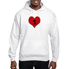 I heart BBQ Hoodie