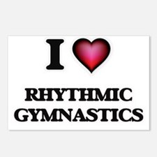 I Love Rhythmic Gymnastic Postcards (Package of 8)