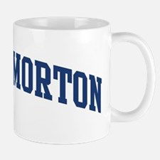 THROCKMORTON design (blue) Mug