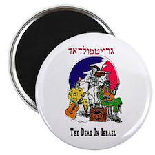 Color Deadhead Israel Magnet