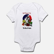 Color Deadhead Israel Infant Bodysuit