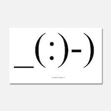 Suba Diver Emoticon Car Magnet 20 x 12