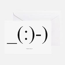 Suba Diver Emoticon Greeting Card