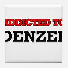 Addicted to Denzel Tile Coaster