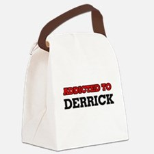 Addicted to Derrick Canvas Lunch Bag