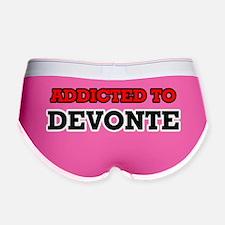 Cute Devonte Women's Boy Brief